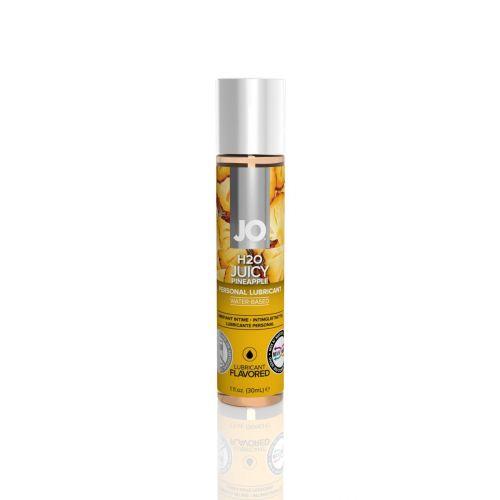 Лубрикант съедобный для оральных ласк со вкусом ананаса System JO H2O 30 мл
