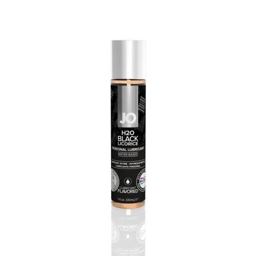 Смазка для оральных ласк вкус черная лакрица System JO H2O 30 мл