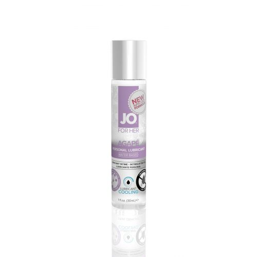 Лубрикант на водной основе System JO AGAPE - COOLING (30 мл) вагинальная-имитатор женской смазки охлаждающая и для игрушек (Систем Джо)