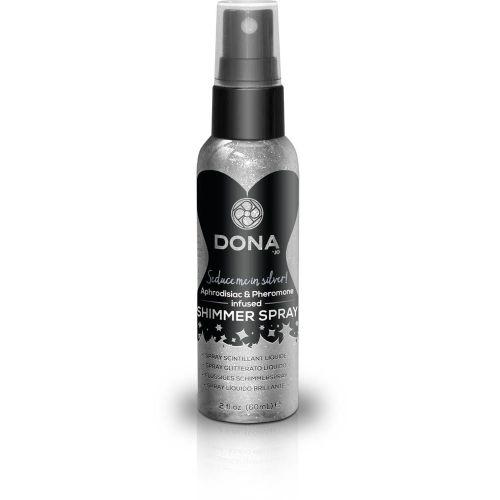 Спрей для тела с блестками DONA Shimmer Spray Silver (60 мл)