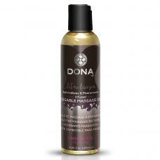Массажное масло со вкусом шоколадного мусса DONA Kissable Massage Oil 125 мл