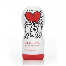 Мастурбатор Tenga Keith Haring Deep Throat Cup Тенга