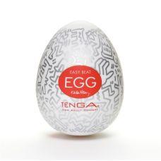 Мастурбатор яйцо Tenga Keith Haring EGG Party Тенга