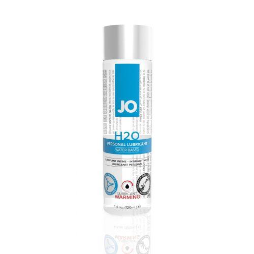 Лубрикант на водной основе System JO H2O - WARMING (120 мл) дополнение к женской смазке для игрушек и презервативов согревающий (Систем Джо)