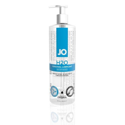 Лубрикант на водной основе System JO H2O - ORIGINAL (480 мл) дополнение женской смазки вагинальный  и для игрушек с презервативами (Систем Джо)