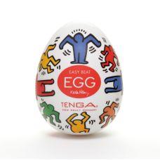 Мастурбатор яйцо Tenga Keith Haring EGG Dance Тенга