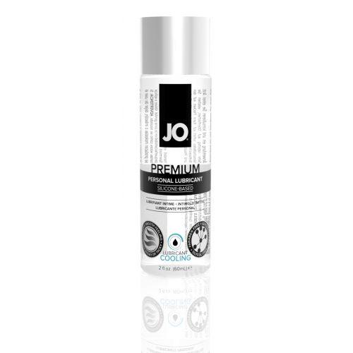 Лубрикант на силиконовой основе System JO PREMIUM - COOLING (60 мл) вагинальный охлаждающий и для игрушек (Систем Джо)
