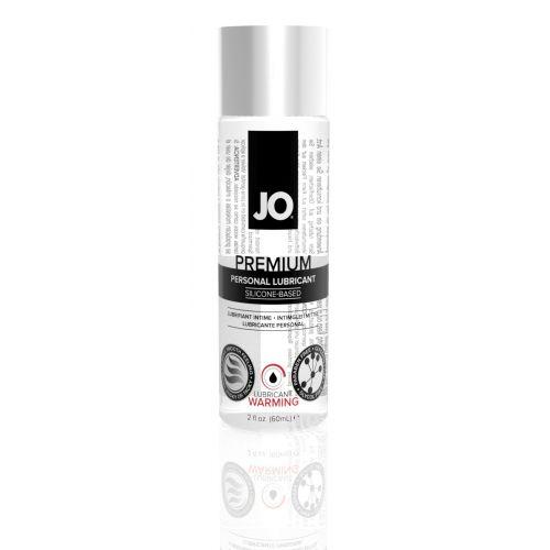 Лубрикант на силиконовой основе System JO PREMIUM - WARMING (60 мл) вагинальный к женской смазке согревающий водостойкий и для игрушек (Систем Джо)