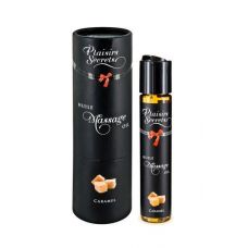 Масло массажное возбуждающее со вкусом карамели Plaisirs Secrets Caramel 59 мл
