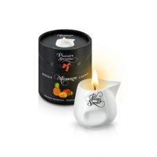 Свеча для массажа с запахом ананаса и манго Plaisirs Secrets 80 мл