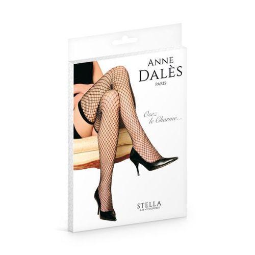 Чулки Anne De Ales STELLA T4 Черные