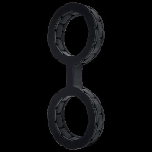Наручники силиконовые Doc Johnson The Cuffs Large - Black