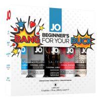 Подарочный набор СМАЗКИ ВСЕМ System JO Limited Edition Gift Set - Bang For Your Buck (5 х 30 мл) (Систем Джо)