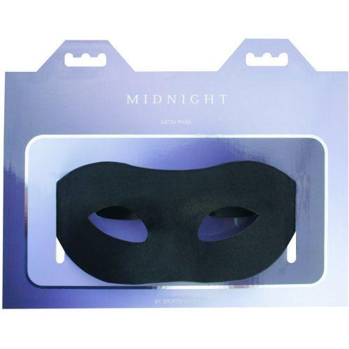 Маска на глаза Sportsheets Midnight Satin Mask