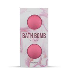 Бомбочка для ванны с ягодным вкусом Dona Bath Bomb - Flirty - (140 гр)