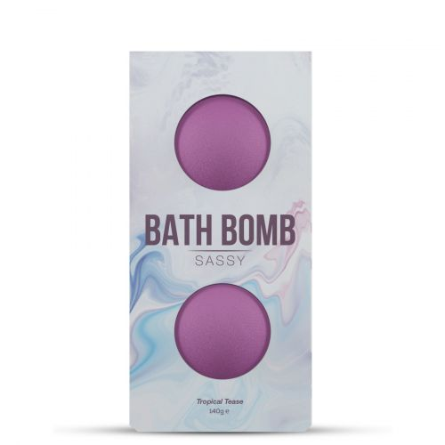 Бомбочка для ванны с ароматом тропиков Dona Bath Bomb - Sassy - Tropical Tease (140 гр)