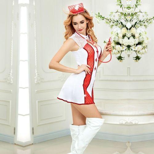 Эротический костюм медсестры  JSY