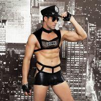 Мужской эротический костюм полицейского Карающий Капитан Беспринципность