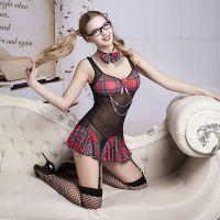 Эротический костюм школьницы для ролевых игр JSY
