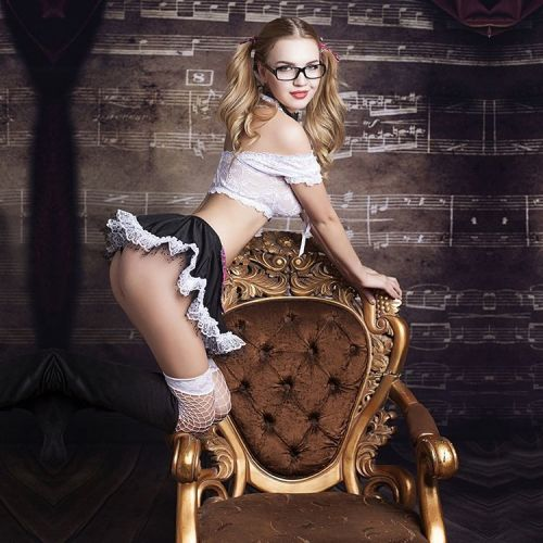 Эротический костюм школьницы JSY