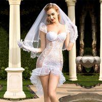 Эротический костюм невесты JSY