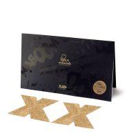 Украшение пэстисы на соски X Bijoux Indiscrets - Flash Cross Gold Золото