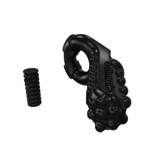 Эрекционное кольцо с вибропулей со стимуляцией клитора Bathmate Vibe Ring - Tickle