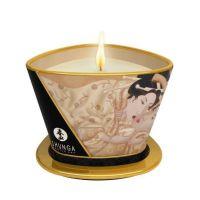 Массажная свеча с возбуждающим ароматом Ванильный фетиш Shunga 170 мл