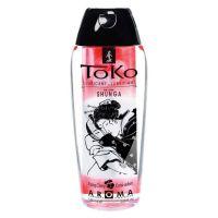 Лубрикант съедобный на водной основе со вкусом пылающей вишни Shunga Toko AROMA 165 мл