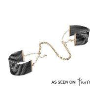 Украшение-наручники Сексуальность Bijoux Indiscrets Desir Metallique Handcuffs - Black Черные