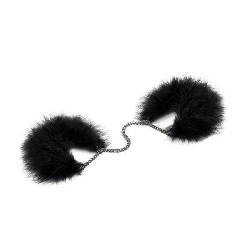 Наручники регулируемые из перьев Bijoux Indiscrets Za za zu - feather handcuffs