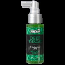 Спрей для минета Глубока Глотка Doc Johnson GoodHead Deep Throat Spray – Mystical Mint Мята (59 мл)