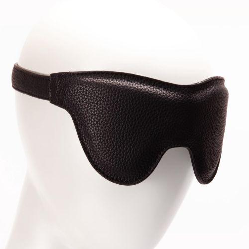 Маска на глаза Pornhub Faux Leather Mask Порнхаб с мягкой эко кожи универсальная