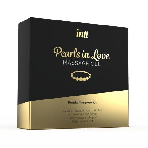 Набор для жемчужного эротического массажа Intt Pearls in Love