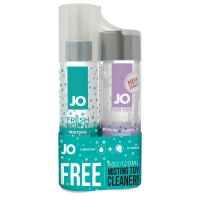 Увлажняющая нежная смазка и чистящее средство System JO Limited Edition - Agape (120 мл) + MistingToy Cleaner (120 мл)