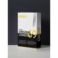 Анатомические презервативы EGZO Original (упаковка 3 шт)