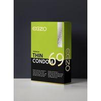 Тонкие презервативы EGZO Thin (упаковка 3 шт)