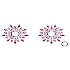 Пэстис на соски Petits Joujoux Gloria set of 2 - Black/Pink