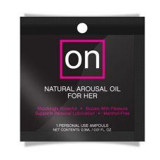 Пробник возбуждающего масла Sensuva - ON Arousal Oil for Her Original 0,3 мл