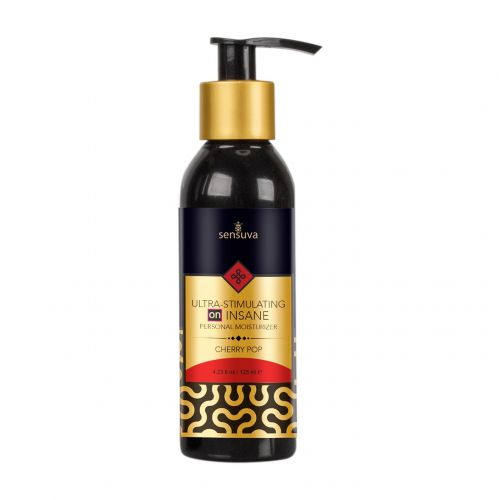Лубрикант на комбинированной основе Sensuva - Ultra-Stimulating On Insane Cherry Pop 125 мл