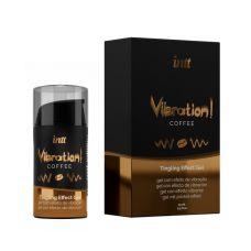 Возбуждающий гель (Жидкий вибратор) со вкусом кофе Intt Vibration 15 мл