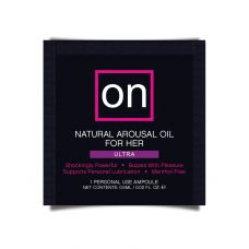 Пробник возбуждающего масла Sensuva ON Arousal Oil for Her Ultra (0,5 мл)