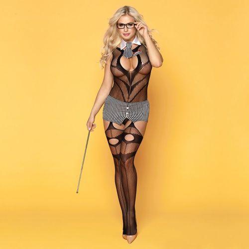 Эротический костюм учительницы Строгая Марли