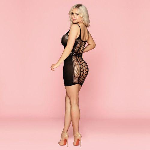 Эротическое платье-сетка Оливия