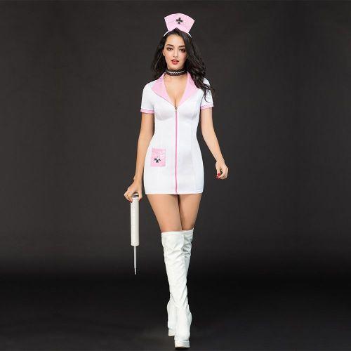 Эротический костюм медсестры Сексуальная Николетта