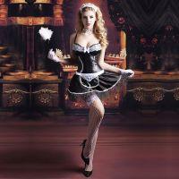 Эротический костюм горничной - Старательная Бекки