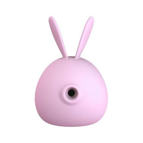 Вакуумный стимулятор для клитора фиолетовый KissToy Miss KK