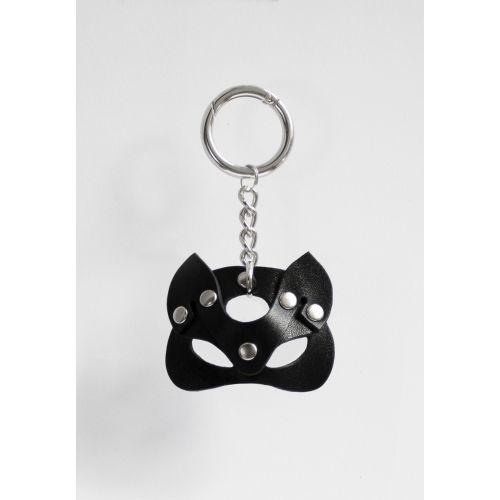 Брелок маска БДСМ Кошечка Черный