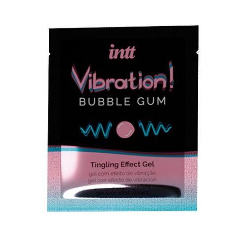 Пробник жидкого вибратора Intt Vibration Bubble Gum