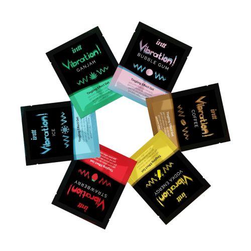 Набор пробников жидкого вибратора Intt Vibration Six Flavor Mix 12 по 5 мл